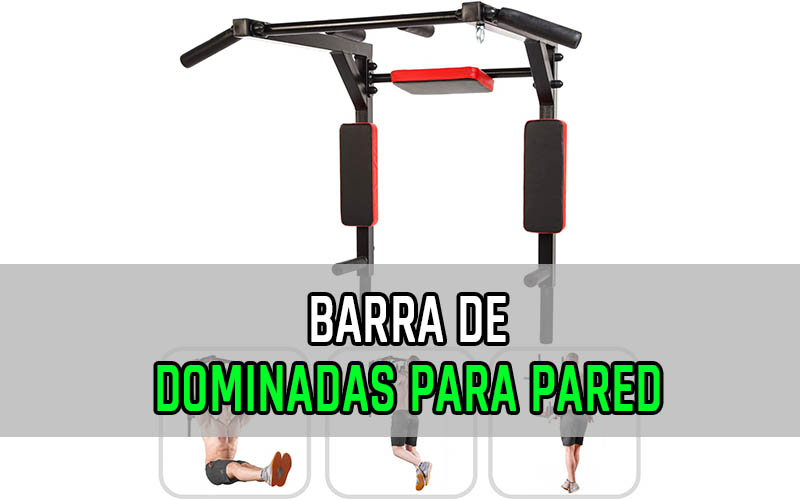 Barra Dominadas para Pared