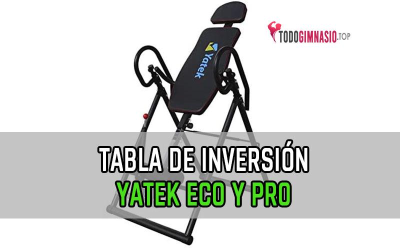 tabla de inversión yatek
