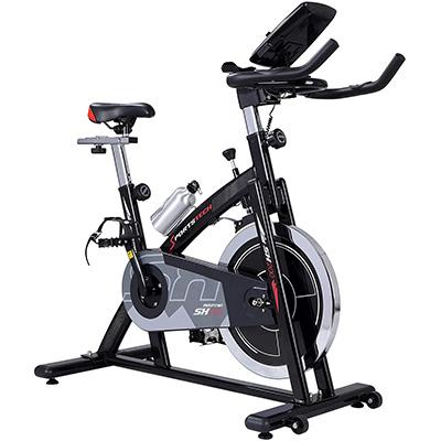bicicletas spinning recomendadas, sillin regulable, volante regulable y regulador de velocidad