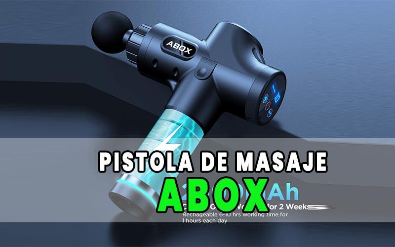 pistola de masaje muscular Abox