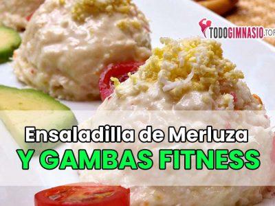 Ensaladilla de Merluza y gambas Fitness