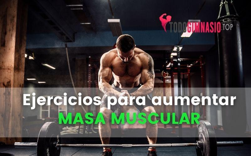 Rutina de ejercicios para aumentar masa muscular en el gimnasio