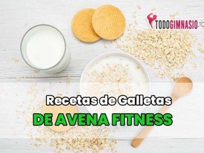 3 Recetas de Galletas de avena Fitness