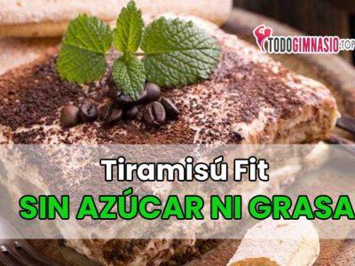 Tiramisú Fit sin Azúcar ni Grasa