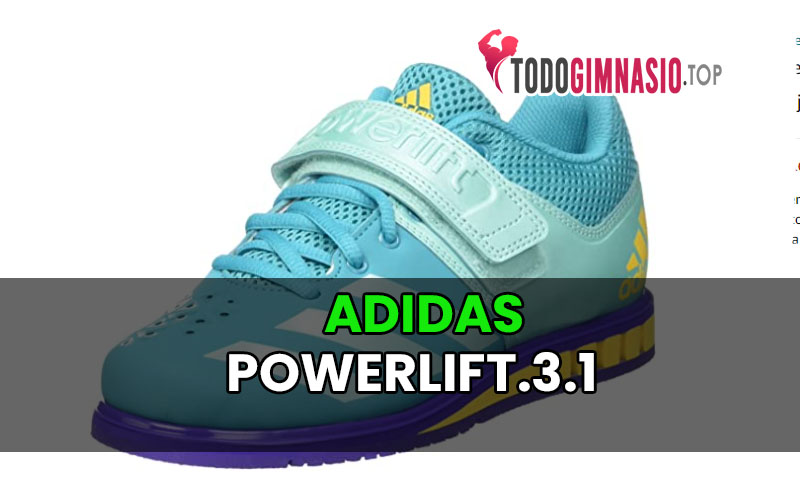 Adidas Powerlift.3.1: Zapatillas de halterofilia para Mujer