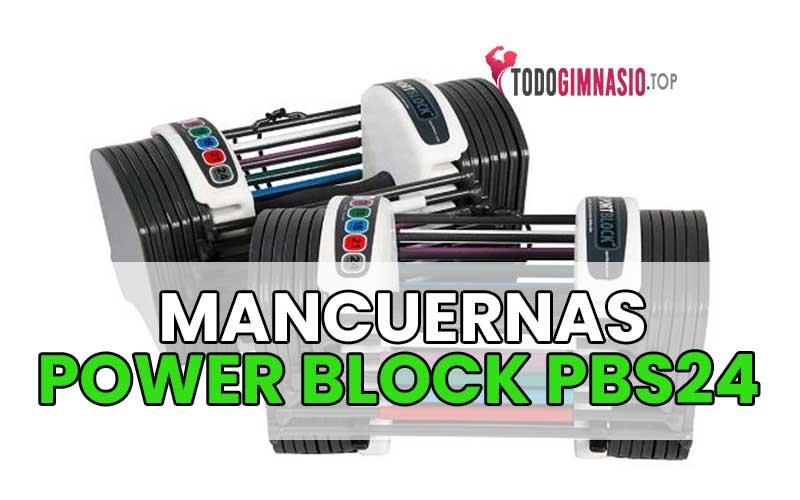 Mancuernas Ajustable Power block pbs24