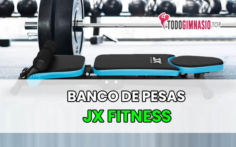 Banco de Pesas JX FITNESS