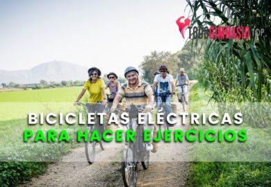 Bicicletas eléctricas para hacer ejercicio | ¿Son realmente efectivas?