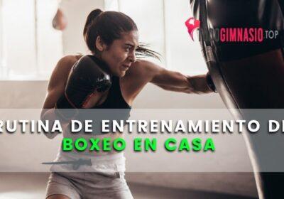 Rutina de entrenamiento de Boxeo en casa