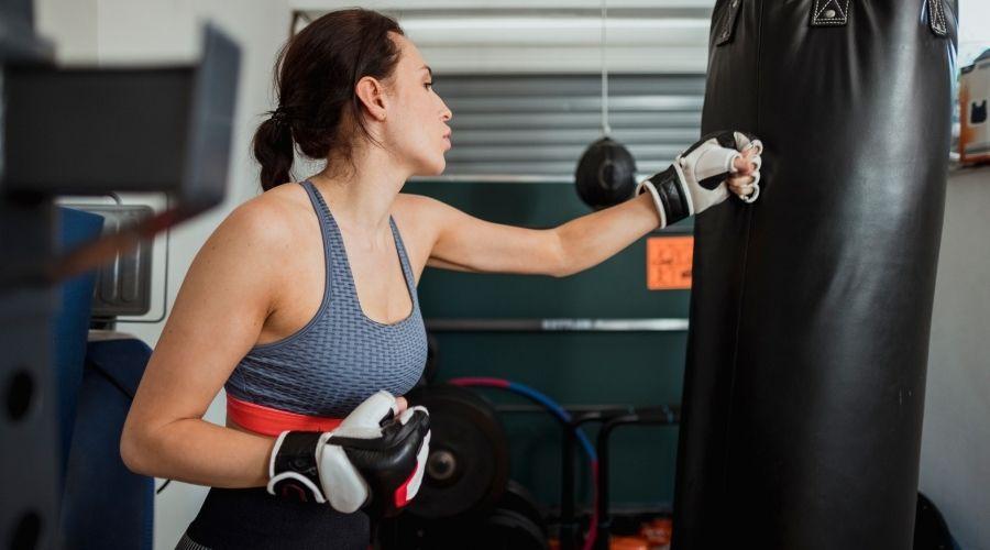 Tabla de entrenamiento de Boxeo